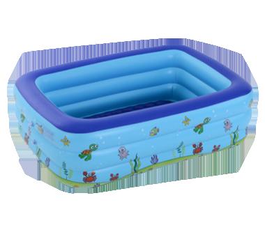 儿童三环充气游泳池