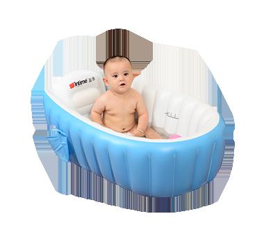 婴儿充气浴盆
